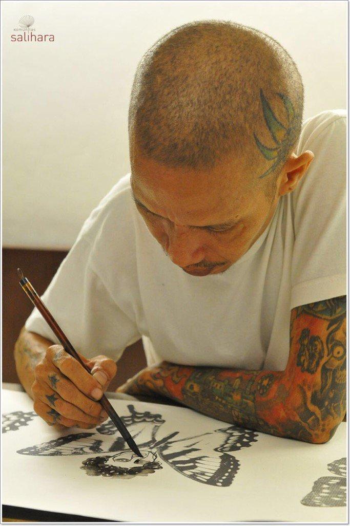 Turut berduka cita atas meninggalnya salah satu seniman terbaik di dunia seni rupa, S. Teddy Darmawan. https://t.co/jaTOPxaPbe