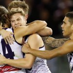3QT: Freo 10.4.64 v Saints 7.9.51 Freo take the lead with big final quarter coming up #AFLSaintsFreo #foreverfreo https://t.co/H1vtHTM0rn