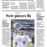 "Saturdays @KCStar sports cover: #Royals ""new pieces fit"" in 7-5 W vs. #ChiSox. @vgregorian: https://t.co/3mPfdklR0e https://t.co/Kcm73rX81G"