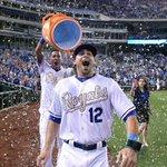 Its Hammer Time in KC! Congrats on your first @MLB hit, @Brett_Eibner! ???? by @jsleezer https://t.co/ELF4UwbJmc