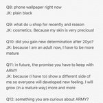 "3rd Term Army Kit - Jungkook Interview. Jungkook is searching for ""Rapmonster focus"" lately ㅋㅋㅋㅋㅋ https://t.co/GjiuApJn8d"