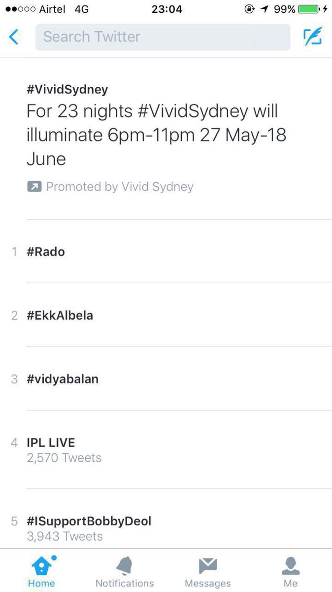 #Rado went upto being the no.1 trend last night all thanks to @iHrithik and @shrutiarora. #radochocolate https://t.co/m3aOuM3UcU