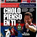 صحيفة Mundo Deportivo الكاتالونية تتوسل سيميوني (الذي أخرج فريقها من البطولة) للإطاحة بريال مدريد في نهائي ميلان. https://t.co/1rpDMczCc3