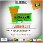 #YDIALOGUES comes off today at SSNIT auditorium Adum, Kumasi.  Time:11am https://t.co/ingEmSKmjT