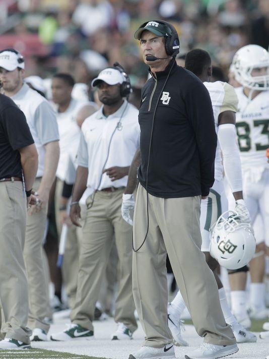 Armour: Baylor's punishment should come from the legal system, not NCAA.
