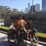 Honda EX5 pertama tiba di Burj khalifa Dubai melalui jalan darat. tahniah Mohd Aswade Ali. https://t.co/b04Wb2oILD