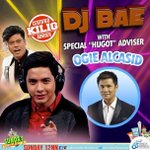 The DJ Bae @aldenrichards02 is back tom with special guest @ogiealcasid #SPSFunDeMayo https://t.co/kxnP98E9x3