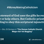 RT: Learn how a good steward of God uses the gifts that he receives.  https://t.co/4B7X5jRmcW  #MoneyMakingCathol… https://t.co/zYGt493t8X