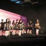 #JKT48MahagitaHS Mini Concert.  M5. Hanya Lihat ke Depan (Senbatsu) https://t.co/FMLUSe3E5t