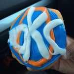 Now this is the right way to start a playoff game day, @DunkinOKC. #ThunderUp https://t.co/4zAocWG9tQ