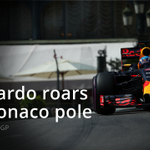 BREAKING: @danielricciardo claims a sensational pole at the #MonacoGP! Rosberg 2nd, Hamilton 3rd https://t.co/Gd7P2J6gP5