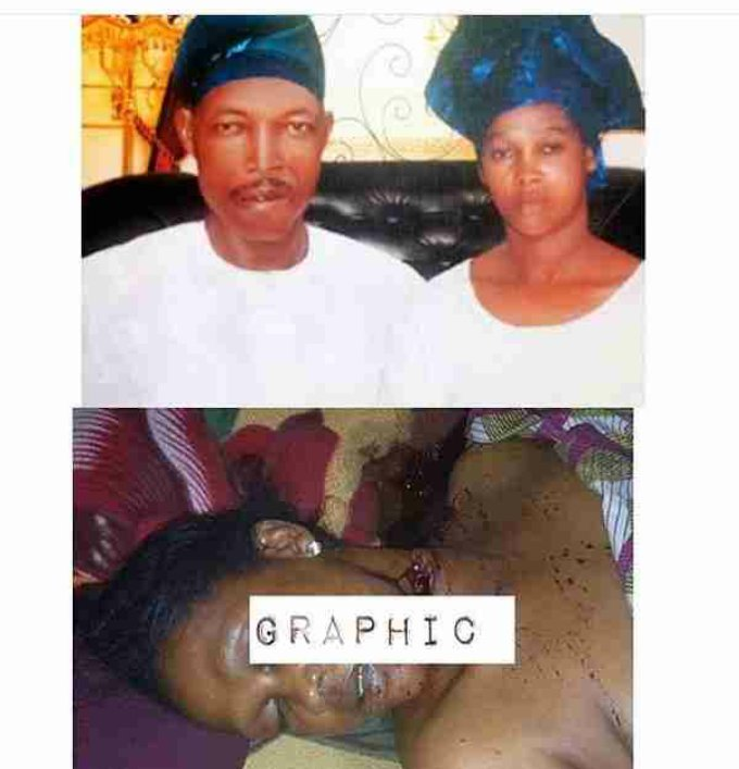 So another man killed his wife yesterday in oshodi