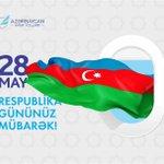 28 May - Respublika Gününüz Mübarək! ???????? Yaşasın #Azərbaycan ! #28May #RespublikaGünü #AZAL #aztwi https://t.co/I4gUTpSPwu