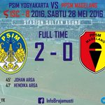 FT : PSIM 2 - 0 PPSM https://t.co/fla6U5kD7f