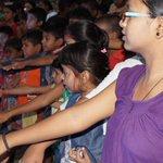 Children pledging to be #ResponsibleCitizen. At Traffic Park, Lucknow. @javeeddgpup @SsplkwUp https://t.co/QeKIQsIdFr