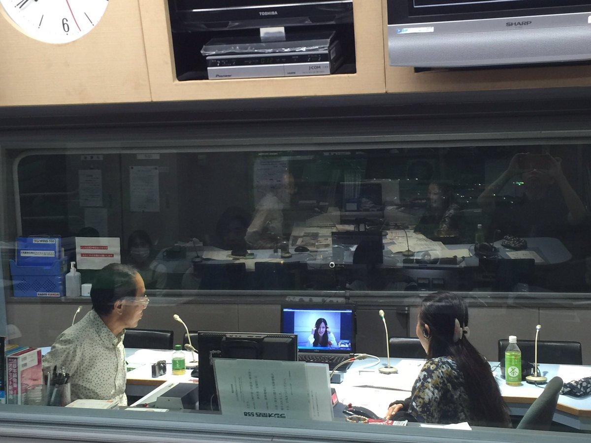東京のスタジオから原由実さん生出演中です!! #radimenia #radiko https://t.co/CD1rv2SdlP