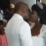 """@eniola_opeyemi: PHOTO: Toolz and Hubby Tunde Demuren Share Loving First Kiss At Their Wedding Ceremony In Dubai https://t.co/qvsoEoEj4m"""""