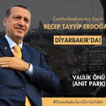 Başkan Diyarbakırda .! #DiyarbakırİçinDirilişVakti https://t.co/W7lZ5B6W7c