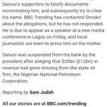 Reno that disguised as Wendel Simlin accusing SLS of financing Boko Haram, is who is better than Tolu? Pathetic ???? https://t.co/240GuTAyFv