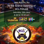 BCL punjAb.. Starts today https://t.co/1P71PrYw47