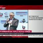 Genel Başkanımız ve Başbakanımız Yıldırım, Diyarbakırda Toplu Açılış Töreninde konuşuyor. https://t.co/GCZ1xOfWNu https://t.co/Zo0AFEBPAH
