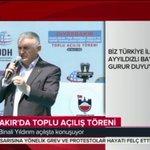 Genel Başkanımız ve Başbakanımız Yıldırım, Diyarbakırda Toplu Açılış Töreninde konuşuyor. https://t.co/mwREQmCUkA https://t.co/evCJnHnNLS