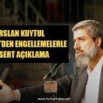 Alparslan Kuytul Hocaefendi'den Engellemelerle İlgili Sert Açıklama https://t.co/lRaSCzVB2A https://t.co/7oTESFecIl