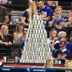 ICYMI: Indians fans build beer pyramid on $2 beer night (H/T @Reflog_18) https://t.co/V6eWlZ46Zj