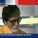 RT @IndiaToday: #Modi2 Big Bash: Girl child has equal right in our society, says @SrBachchan https://t.co/dLxyW19vA8