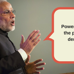 Live: Power belongs to the people in a democracy, says PM Modi https://t.co/dTkBBeGHK8 #2YearsOfModiGovt https://t.co/n9Wj6xBlrb