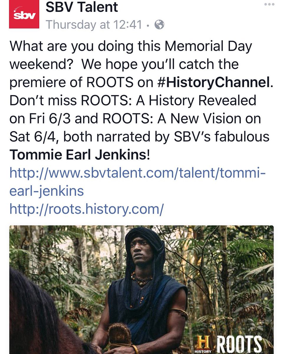 Don't miss #ROOTS this Memorial Day on the @HISTORY channel @RootsSeries https://t.co/zph3SJG5Pw