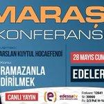 Alparslan Kuytul Kahramanmaraşta Canlı Yayın:Edessa Tv https://t.co/qtJJuG8YTe https://t.co/cyhYxAQAps