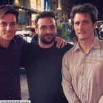#Guillermo disfruta de sus vacaciones en USA. Foto tomada anoche con unos hinchas de Boca en Times Square NY https://t.co/yOTpiFlqoQ