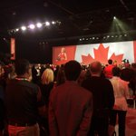 Packed room this morning at Liberal Convention. Ontario Premier Kathleen Wynne to speak shortly. https://t.co/WFLK7GJ4wJ