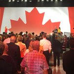 A touching moment: the final day of #wpg2016 starts off with @Mauril_Belangers National Anthem https://t.co/5ANuAuL03O