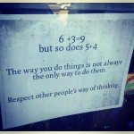 """Respect other people's way of thinking."" https://t.co/WeD3sdL8A0"
