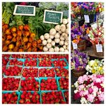 Great morning at our hometown Farmers Market for fresh strawberries, veggies, and flowers of all kinds! https://t.co/pKW45eD0Xp