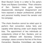 .@BernieSanders calls for removal of Barney Frank and Gov Malloy from Convention Platform Committee #FeelTheBern https://t.co/zZEDH1vpkx