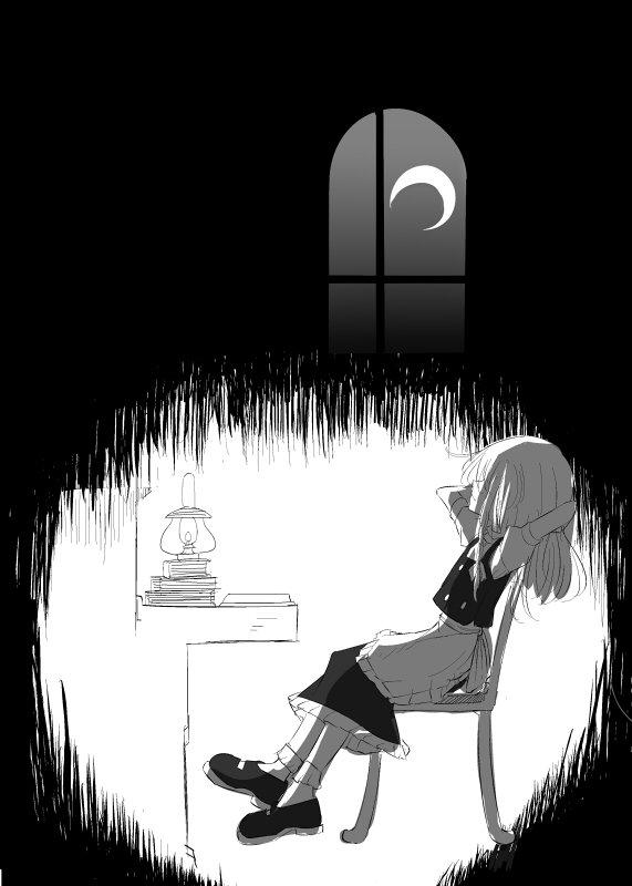 魔理沙の夜 #深夜の真剣お絵描き60分一本勝負 https://t.co/svCUADsa6u