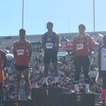 Lawrence Highs Trey Moore (15.38) and Tayvien Robinson (15.46) took 2nd and 3rd, respectively, in the 100 hurdles. https://t.co/h0BAUoCfM3