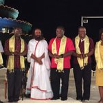 Governor and Ministers from Kenya are @BangaloreAshram. Discussed plans for the development of Kenya. https://t.co/cSF36i8q8i