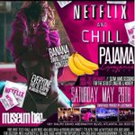 MUSEUM BAR TONIGHT! #NetflixNChill  👙 PAJAMA + LINGERIE PARTY 🎁 ADULT TOY GIVEAWAYS 🍌 BANANA SWALLOWING CONTEST https://t.co/kq2dAtJIMF 2