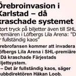 Örebroare, hur sugna är ni på att krascha systemet i Karlstad igen? Den 17/9 är det premiär! #Fjortontre #Örebro https://t.co/r2pz2M0DCj