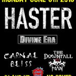 Well be playing a FREE show at @DollHutAnaheim in #Anaheim #CA on #Monday #June 6th!! #MetalMonday #Haster 21+ https://t.co/RzW7npz7to