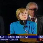 """Never forget @HillaryClinton said @BernieSanders was absent during the 94 Health Care fight... """"Where was he?"""" https://t.co/tpnB2XIZ8q"""