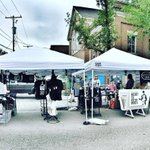 We are setup and open for business at the #cvaf2016 Street Fair - come say hi and check out our printy wares! Here… https://t.co/JJL8nGY5Vk