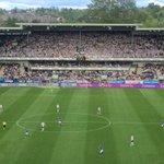 Dortmund har sin gule vegg, @RBKfotball har sin hvite. @kjernencom leverer alltid! #2fx #rbk #rosenborg https://t.co/54Nbf5Hooh