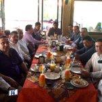 Desayuno con amigos de la prensa de San Cristóbal. la amistad como vínculo que se refrenda y se cultiva día a día. https://t.co/W6kMnKD4zb