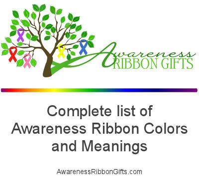 Please Retweet!  Complete list of Awareness Ribbon Colors - https://t.co/KbmcZPxAyi https://t.co/r76f9dMkow