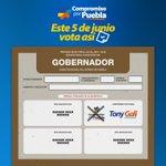 ¡Amigos! Este 5 de Junio VOTEMOS ASÍ, @TonyGali #MiVotoEsXTony #PueblaMiOrgullo https://t.co/glm2QJ18IZ